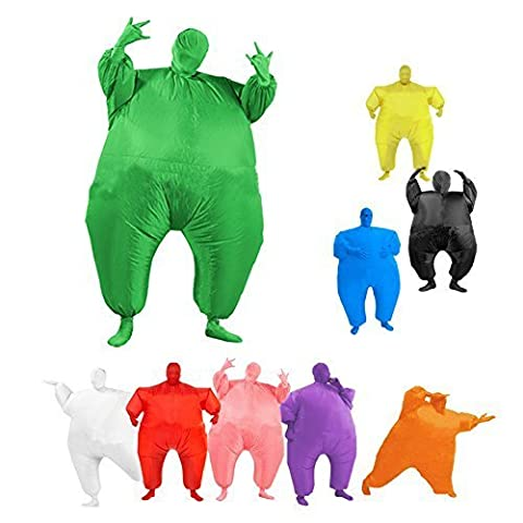 Buyee® Child Teen Chub Suit Inflatable Blow Up Color Full Body Costume 10 Color (Full Body Costume blue)