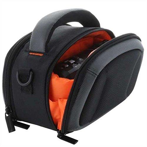Smart Planet® hochwertige Kameratasche Camcorder kompatibel mit z.B. Panasonic HC-V180 V777 - HDR CX240E CX450 CX625 usw Tasche für Camcorder mit Schultergurt