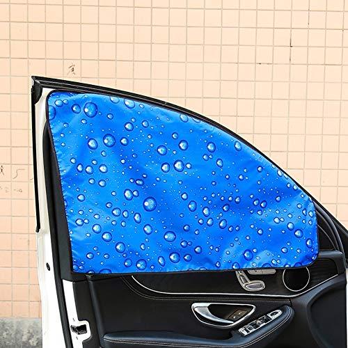 FDSEA Auto Schatten Sonnencreme Isolierte Sonnenblende Auto Sonnenblende Seitenfenster Magnetischer Autofenstervorhang schützt Ihr Baby und Ihr Kind vor Sonnen- / UV-Schäden,Firstofficer
