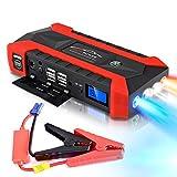 CQ&WL 89800mAh Multifonction Jump Starter 12V 4USB 600A Chargeur de Batterie de...