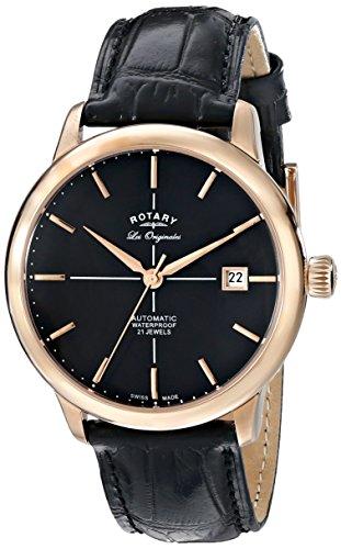Rotary orologio da polso da uomo XL Les Originales al quarzo in pelle...