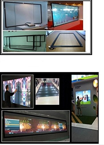 Preisvergleich Produktbild Gowe Infrarot Kiosk Touch Monitor 4Echt Touch Punkte 101,6cm IR Multi Rahmen Display Panel/Rahmen ohne Glas 16: 9Format