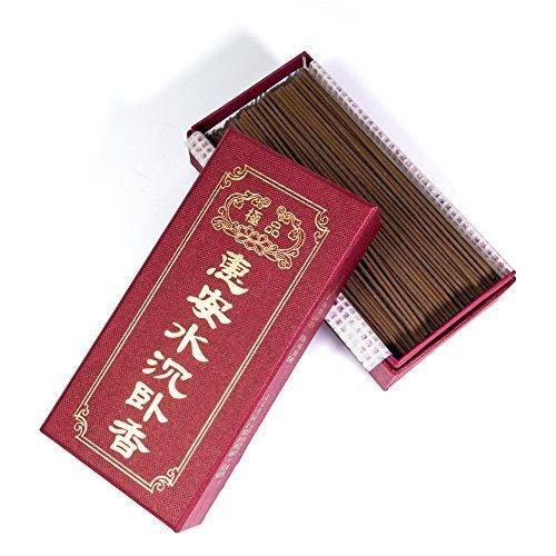 "ShinZuo Aloeswood Agarwood Incense Sticks 8/"" 5 Ounces 200 Sticks"