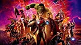THE AVENGERS INFINITY WAR – US Movie Wall Poster Print - 30CM X 43CM Brand New