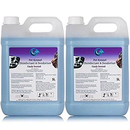 5L of The Chemical Hut Candy Bubblegum Fragranced Antibacterial Disinfectant and Deodoriser Freshener for Kennels, Runs… 1