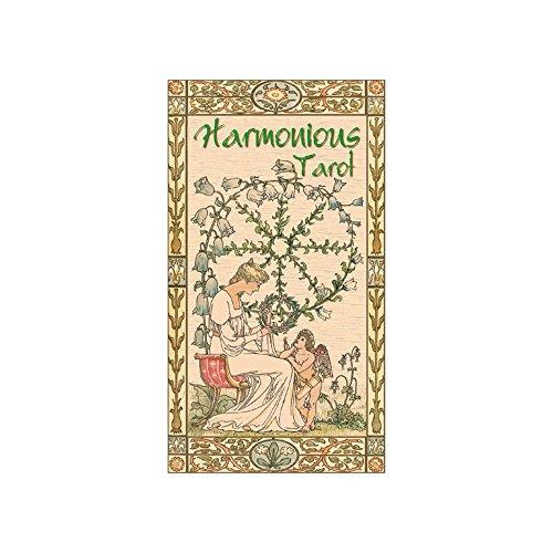 Baraja Harmonious Tarot, Mazo de 78 Cartas con Instrucciones Multiling