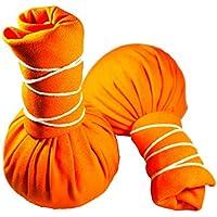 Kräuterstempel - Orange - 2 Stück a` 100g - Oranger Compress Ball - löst Verspannungen preisvergleich bei billige-tabletten.eu