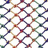 Lila Kinder Kletternetz Schutznetz, Treppe Balkon Anti-Fall-Netz Kletternetz Farbe dekorative Net verschleißfesten Korrosionsschutz gilt für Treppen, Balkone, Decken, Hängebrücken, Gartenzäune 3 * 4m