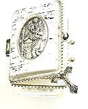 Ars-Bavaria Ersten Heiligen Kommunion, zur Taufe, zur Hochzeit Rosenkranz Schimmernde Perlen im Christopherus Döschen