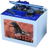 Preisvergleich für Eastlion Automatische Diebstahl Münzen Money Bank Monster Saving Box mit 7 verschiedenen Ton, Licht Dinosaurier Piggy Bank