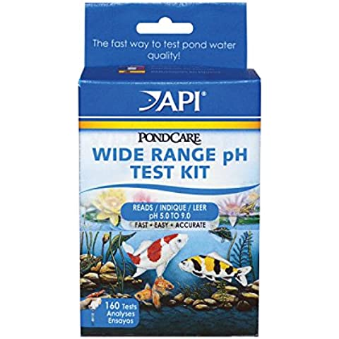 API Pondcare Wide Range PH Test Kit by PondCare
