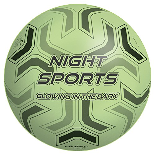 John 50971 - Vinyl-Sportball Glow in The Dark Fussball, Sonstige Spielwaren, 9 Zoll, 230 mm