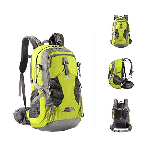08be7971be652 AMOS Outdoor Rucksack Bergsteigen Tasche Schultern Männer und Frauen große  Kapazität Reisebeutel Wanderrucksack Rucksack 40L Iron ...