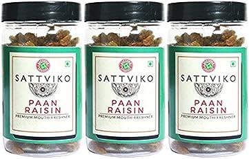 Sattviko Paan Raisin, 330g (Pack of 3)