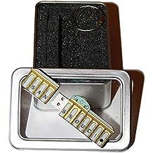 Souvenir Potsdam Sanssouci | Geschenkidee: USB-Stick mit Schlüsselanhänger in Form von Schloss Sanssouci für Frauen u. Männer | inklusive Fotogalerie von Sehenswürdigkeiten in Potsdam & Sanssouci | Memory Stick 2 GB | CultourStix