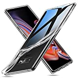 ESR Samsung Galaxy Note 9 Hülle, Hochwertige Weiche Silikon Schutzhülle [Ultradünn] [Kabellosese Laden Unterstützen] Flexibel Durchsichtig TPU Handyhülle [Kratzfest] für Galaxy Note9 (Transparent)