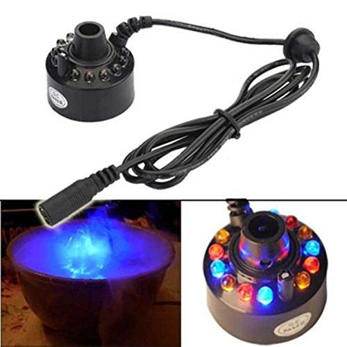 Hot Sale Ultraschall 12Mist Maker Nebelmaschine Zerstäuber Air Luftbefeuchter Wasser Brunnen Teich Nebel Maker Nebelmaschine Wasser