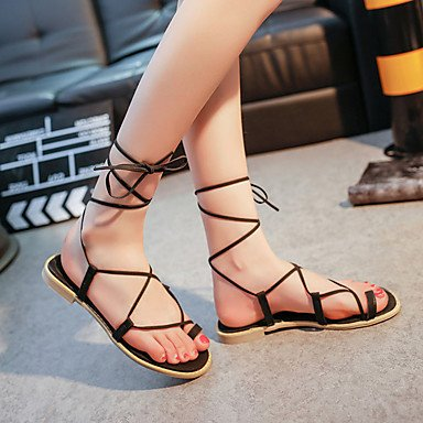 LFNLYX Donna tacchi Primavera Estate Autunno La comodità di Glitter Casual Stiletto Heel altri nero rosa rosso argento a piedi Khaki