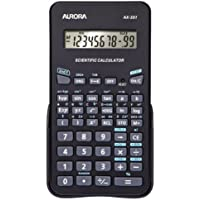 Aurora AX-501 Pocket Scientific Black calculator - Calculators (Pocket, Scientific, 10 digits, 1 lines, Battery, Black) -  Confronta prezzi e modelli