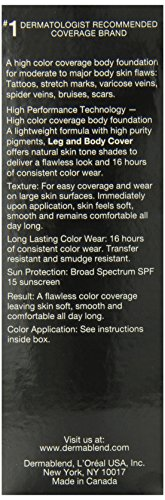 Dermablend Leg and Body Cover SPF 15 3.4 fl oz.