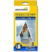Schellenberg 20503 Mosquitera para Puertas, protección Anti Insectos y Moscas – Blanca (140 x 240 cm)