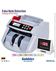 GOBBLER GB5388 Note Counting Machine with Fake Note Detecti