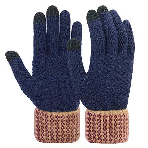 Vodabang guanti invernali uomo touchscreen guanti caldo allungare antivento esterna bicicletta caccia arrampicata