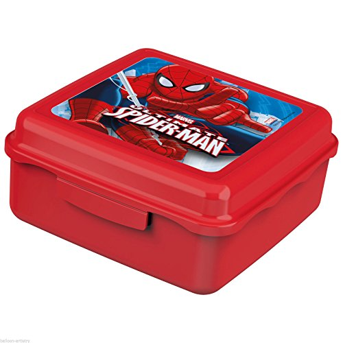 spider-man-childrens-character-plastic-snack-container-pack-lunch-pot-kids-tableware