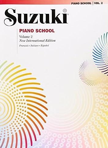 Suzuki piano school. Ediz. italiana, francese e spagnola vol.2