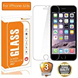 OpenTech® Tempered Glass Screen Protector for Apple iPhone 6 / 6s with Installation