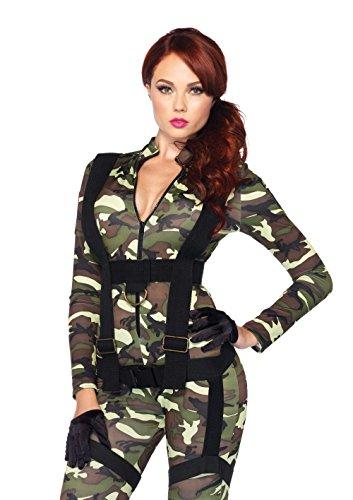 Leg Avenue - Disfraz para mujer trooper, talla M (8516602247)