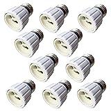 """ZRUIZYAN 10 Stück E27 auf GU10 Lampensockel Adapter für LED Lampen """"MEHRWEG"""""""