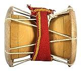 Kannan Musical Instruments 1 Piece Udukkai, Brown