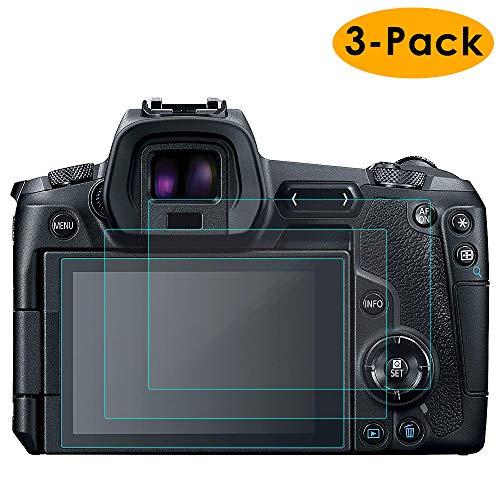 KIMILAR Compatible avec Canon EOS R Films de Protection d'Ecran, (Lot de 3) Protecteur de Écran en Verre Trempé pour Canon EOS R Mirrorless Digital Camera