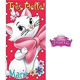 Disney Aristochats - Marie: Serviette de bain/Serviette de bain/Serviette de Plage...