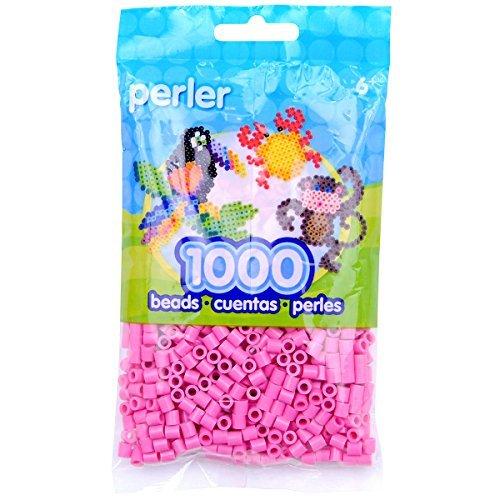 Perler Beads 1,000/Pkg-Bubble Gum by Perler -