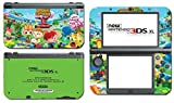 Animal Crossing Special Edition New Leaf City Folk Wild World Villager Video Game Vinyl Decal Skin Sticker Cover for the New Nintendo 3DS XL LL 2015 System Console by Vinyl Skin Designs