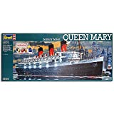 Revell 5698 Liner Queen Mary w/ Colour & Glue 1:570 Ship Model Kit