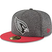 New Era ERA 59 Fifty Cap – Sideline Home Arizona Cardinals 5df5b584386e