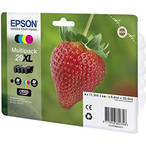 Epson C13T29964022 Inchiostro, Multicolore, 4 Pezzi