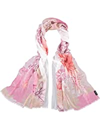FRAAS Women's Floral Stole One Size (Manufacturer's Size: OS)