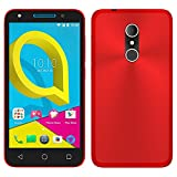 TBOC® Rot Gel TPU Hülle für Alcatel U5 3G - U5 Plus (5.0 Zoll) Ultradünn Flexibel Silikonhülle