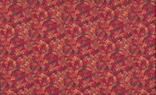 fat quarter Autumn (Fall) leaves Cotton quilting fabric-makower (Autumn Leaves Tessuto)