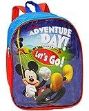 alles-meine.de GmbH Kinder Rucksack -  Disney Mickey Mouse  - Tasche - wasserfest & beschichtet - Kinderrucksack / groß Kind - Mädchen - Jungen - z.B. für Kindergarten / Vorsch..