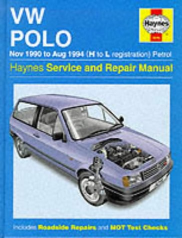 VW Polo Petrol (Nov 90 - Aug 94) H To L (Haynes Service and Repair Manuals)