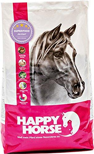 Happy Horse Superfood Reis & Sport 2 x 14 kg - Der ideale Vitalstoffbooster für Pferde mit hoher Leistungsbeanspruchung