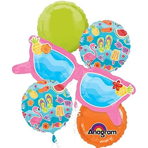 FUN IN THE SUN BALLOON BOUQUET SET by Anagram