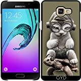 Coque pour Samsung Galaxy A5 2016 (SM-A510) - Chat Circonscription Tortue by Adam Lawless