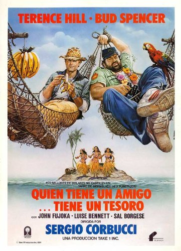 A Friend Is a Treasure Plakat Movie Poster (27 x 40 Inches - 69cm x 102cm) (1981) Spanish
