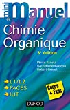 Mini manuel de Chimie organique - Cours + Exercices - Format Kindle - 9782100728732 - 12,99 €